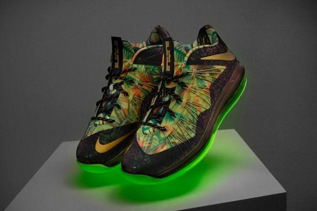 Nike Lebron X Low Backtoback Pack Hero Glow 1