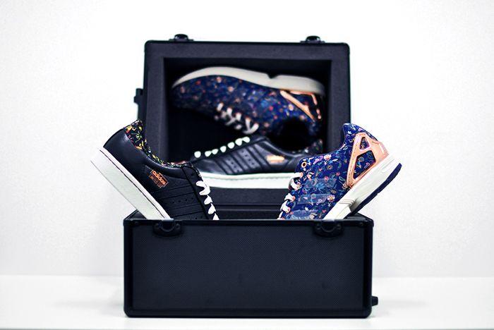 Limited Edt X Adidas Consortium Superstar 80 V Zx Flux11