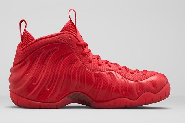 Nike Air Foamposite Pro Gym Red Bumper 3