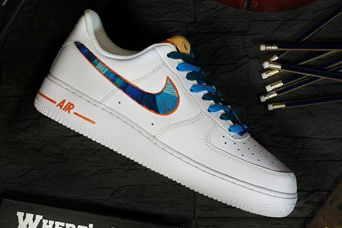 Afew Store X Bobbito Garcia Nike Air Force 1 Rock Rubber 45S 3