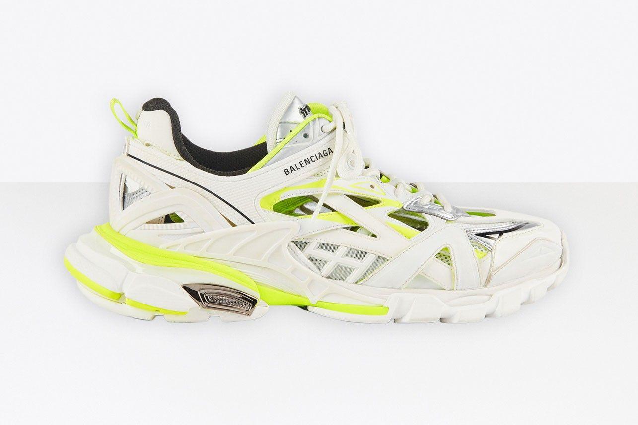 The Balenciaga Track.2 Shines in Neon