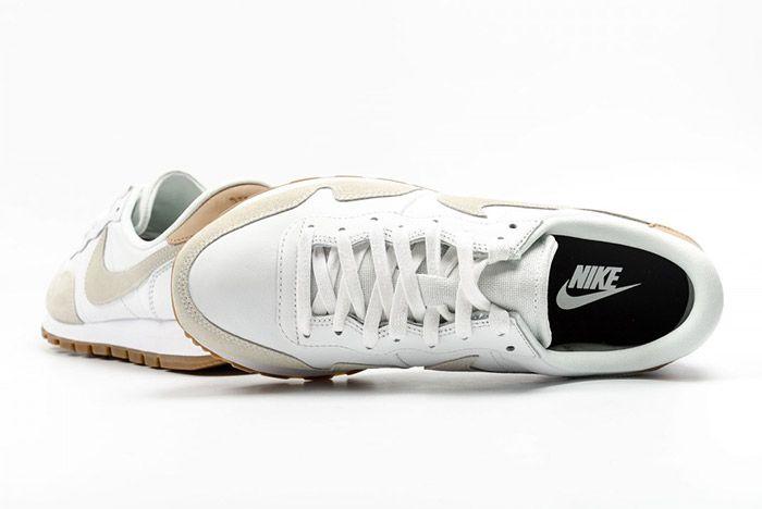 Nike Air Pegasus 83 Premium White Grey Leather 4