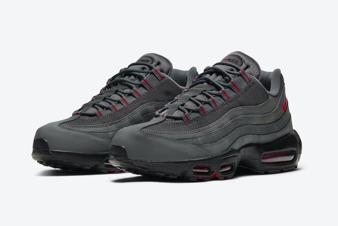 Nike Air Max 95 Grey/Black/Red