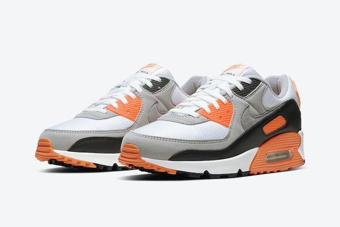 Nike Air Max 90 Total Orange Pair