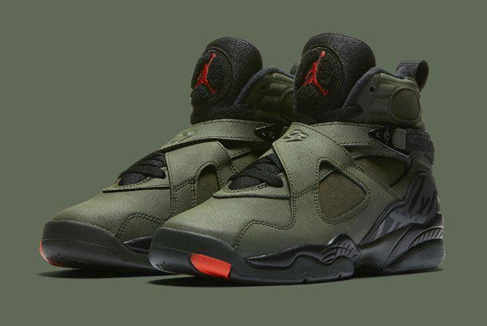 Air Jordan 8 Sequoia Green 2