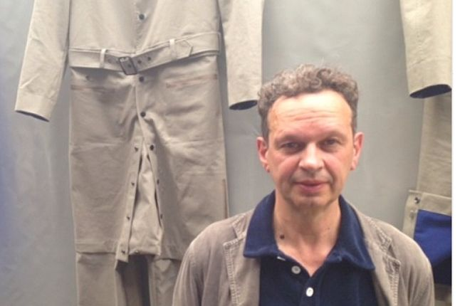 Tom Dixon With Clothes1