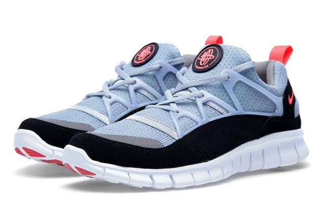 Huarache Light Grey Infrared Pair 1