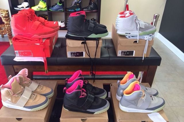 Nike Air Yeezy Full Collection Auction 2
