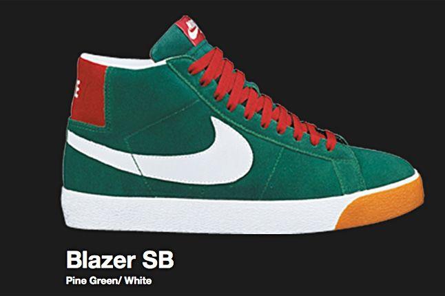 Nike Pine Green Blazer Sb 2007 1