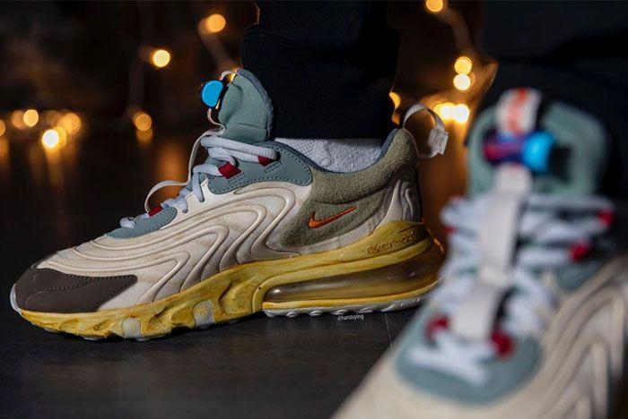 Nike Air Max 270 React On Foot