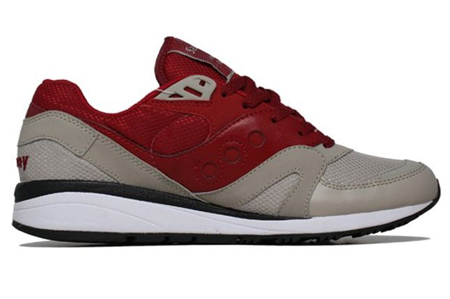 Saucony Master Control Red Side Profile 1