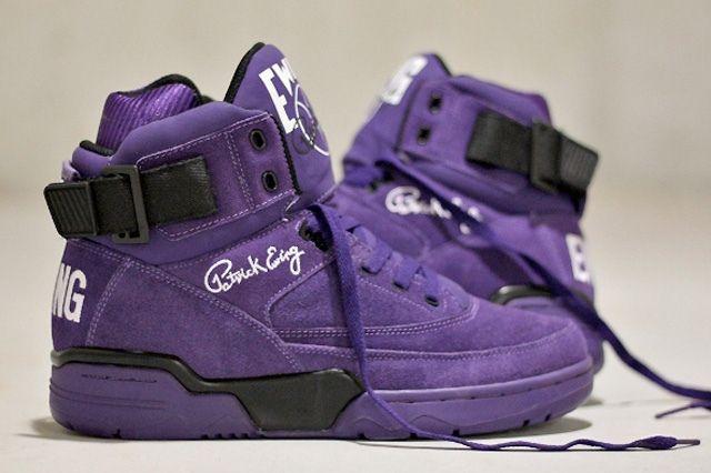 Ewing Athletics 330Hi Purple Suede 2