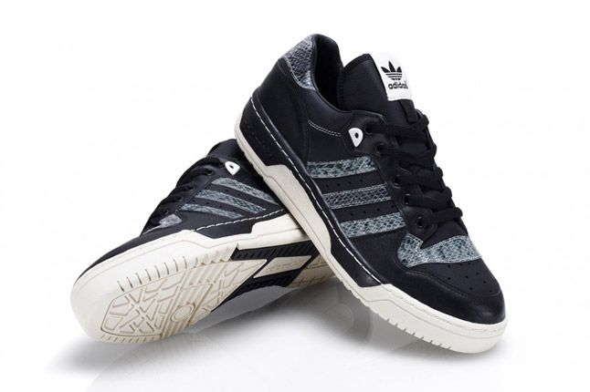 Black Adidas Rivalry Lo Limited Edition Pair 1