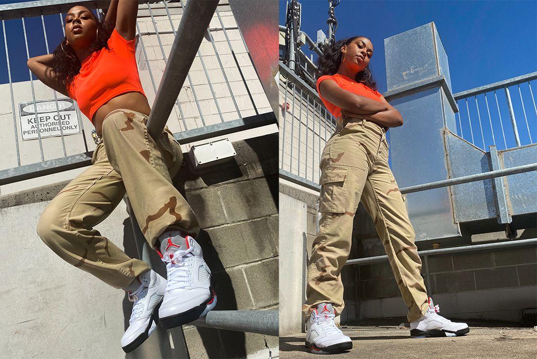 Air Jordan 5 Fire Red Jd Sports Serwah 2
