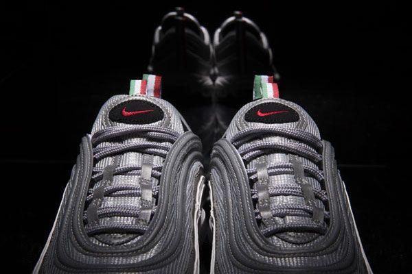 Nike Air Max 97 Silver Bullet Italian Exclusive Tongue
