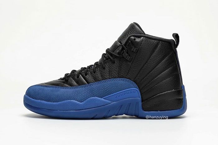 Air Jordan 12 Black Game Royal 130690 014 2019 Release Date 1 1 Side