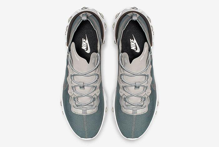 Nike React Element 55 Metallic Silver 2