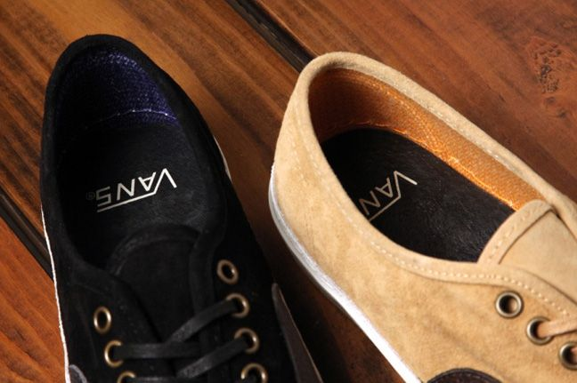 Vans Authentic Lx Suede Leather Pack Heels 1