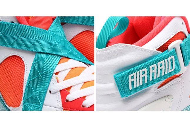 Nike Air Raser Laser Crimson Bump 4