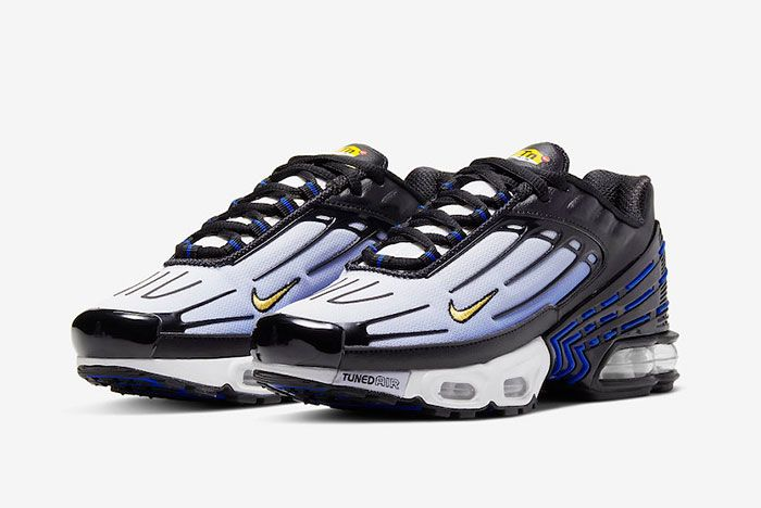 Nike Air Max Plus 3 Hyper Blue Cd6871 001 Front Angle