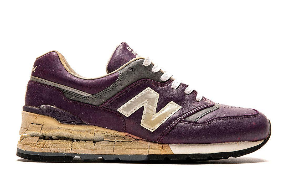 Nb 997 Purple Leather
