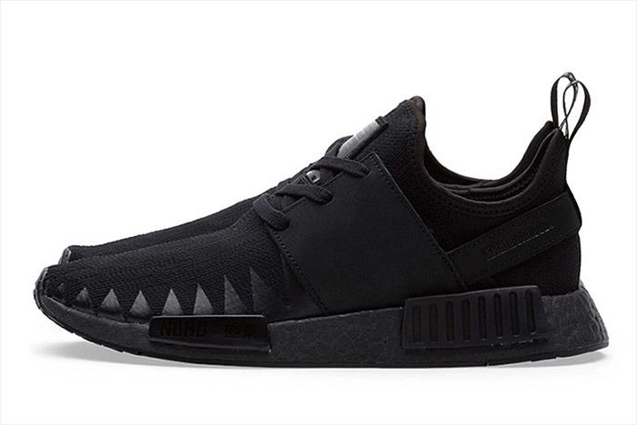 Adidas Neighborhood Nmd Triple Black 5
