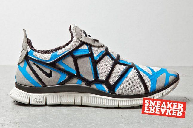 Nike Free Alt Closure Run Blue Grey 1