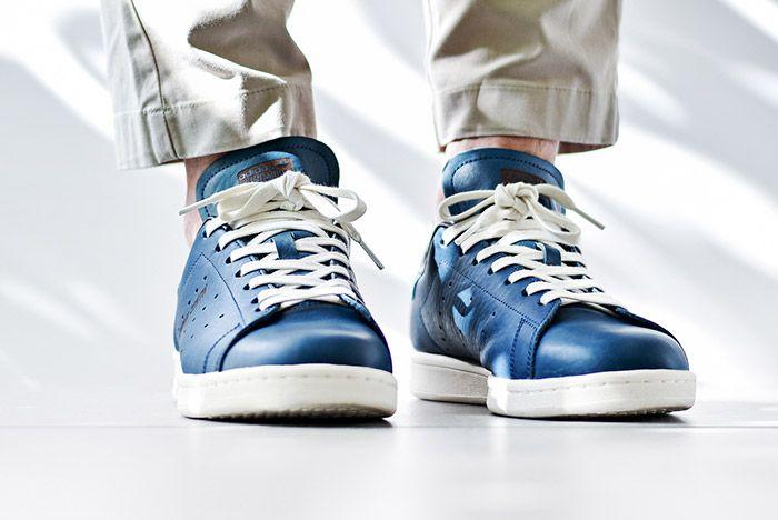 Adidas Stan Smith Horween Indigo Blue 3