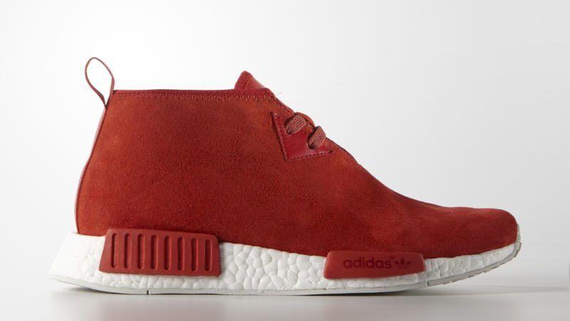 Adidas Chukka Boost Red