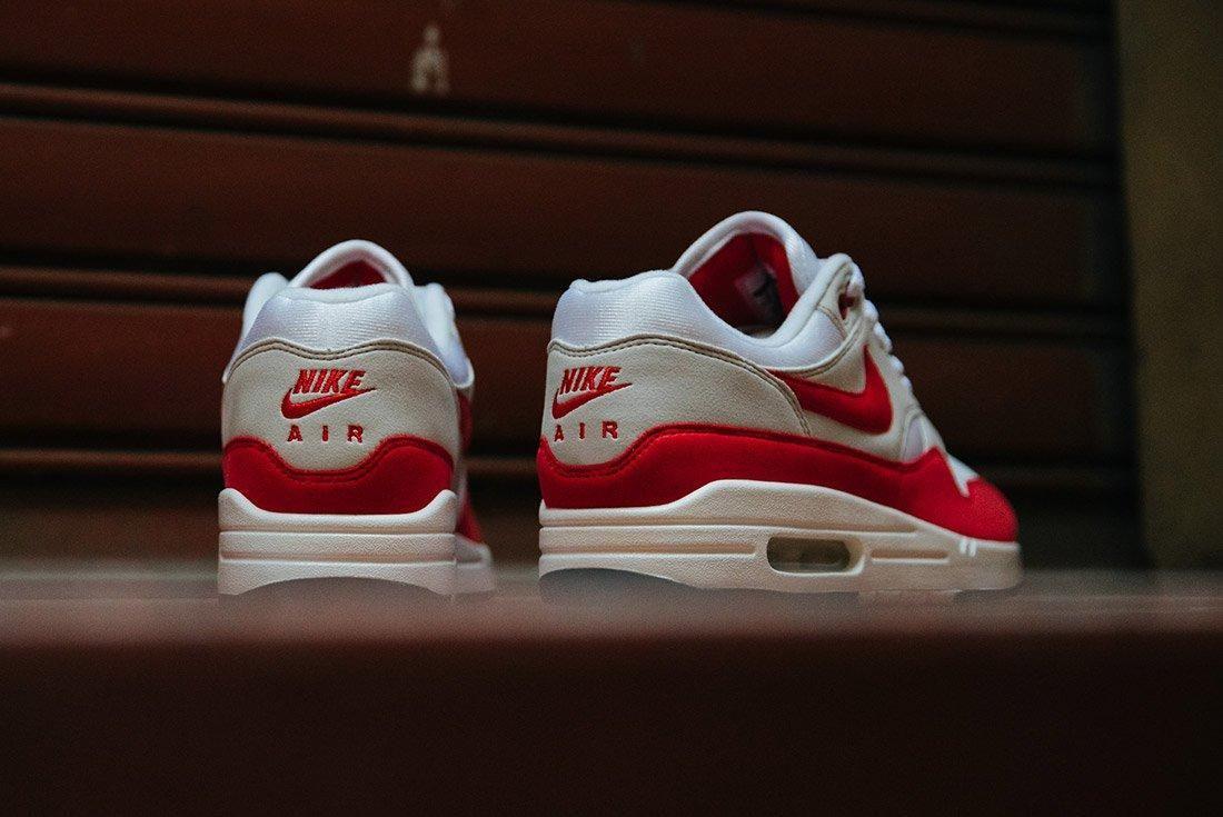 Nike Air Max 1 Anniversary Og Red White 3