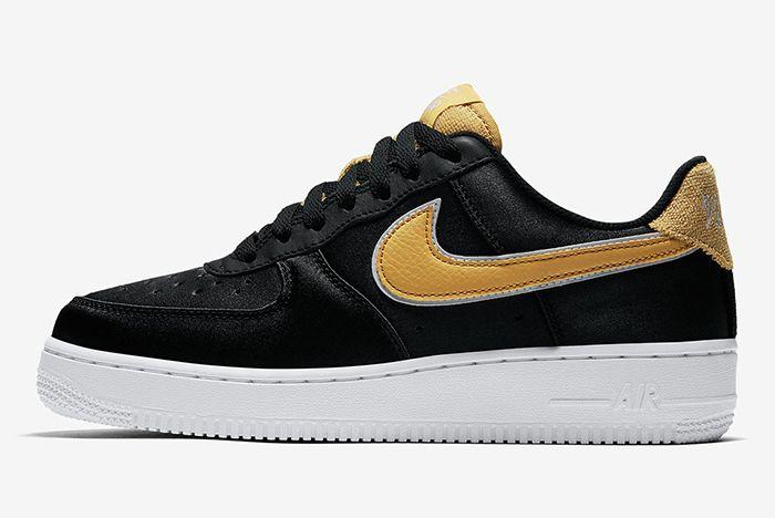 Nike Air Force 1 Low Satin Aa0287 005 3 Sneaker Freaker