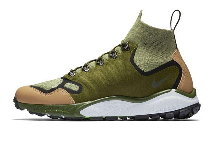 Nike Air Zoom Talaria Mid Flyknit Green Tan 4