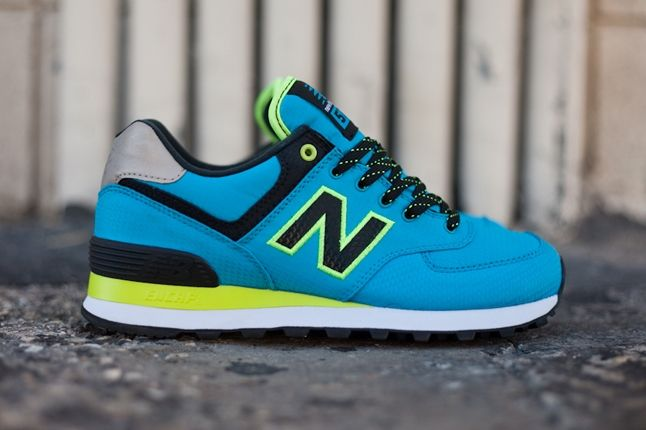 New Balance Windrbreaker Blue Profilke 1