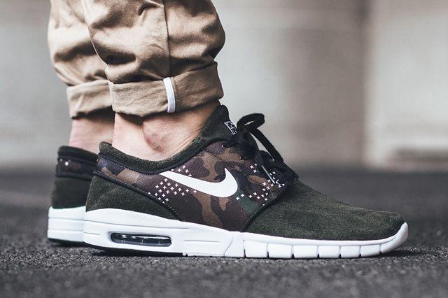 Nike SB Stefan Janoski Max Suede (Sequoia Camo) - Sneaker Freaker