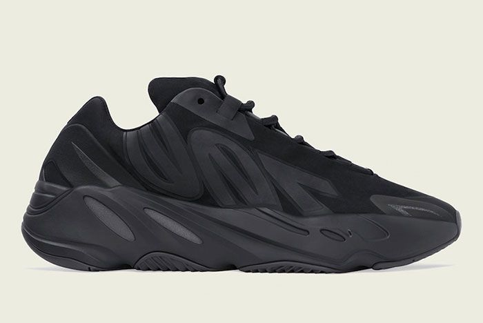 Adidas 700 Mnvn Triple Black Fv4440 Lateral Side Shot