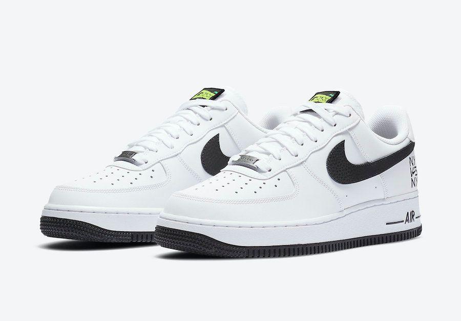 Nike Air Force 1 NY vs NY Angled