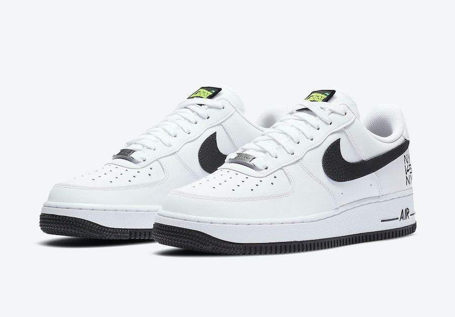 Nike Air Force 1 NY vs NY Angled