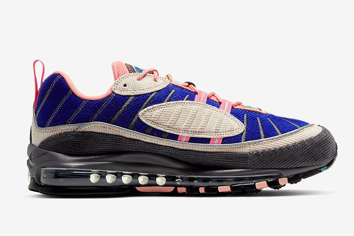 Nike Air Max 98 Corduroy Cq7513 044 Release Date 2Side