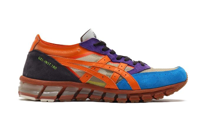 Atmos Asics Gel Inst 180 Nexkin Pack Orange 1023 A017 800 Release Date Lateral