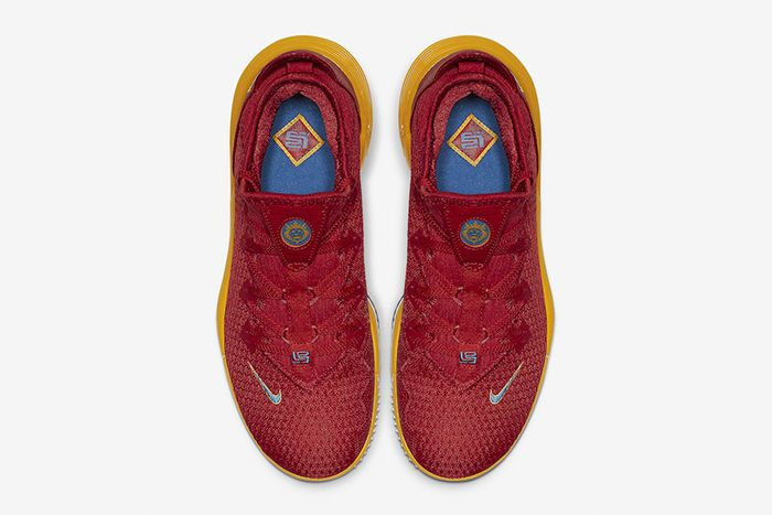 Nike Lebron 16 Low Superbron University Red Varsity Royal Ck2168 600 Release Date Top Down