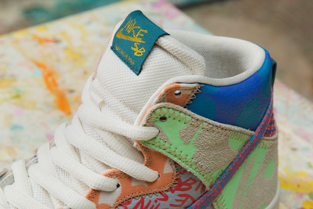 Thomas Campbell X Nike Sb Dunk High Premium What The4