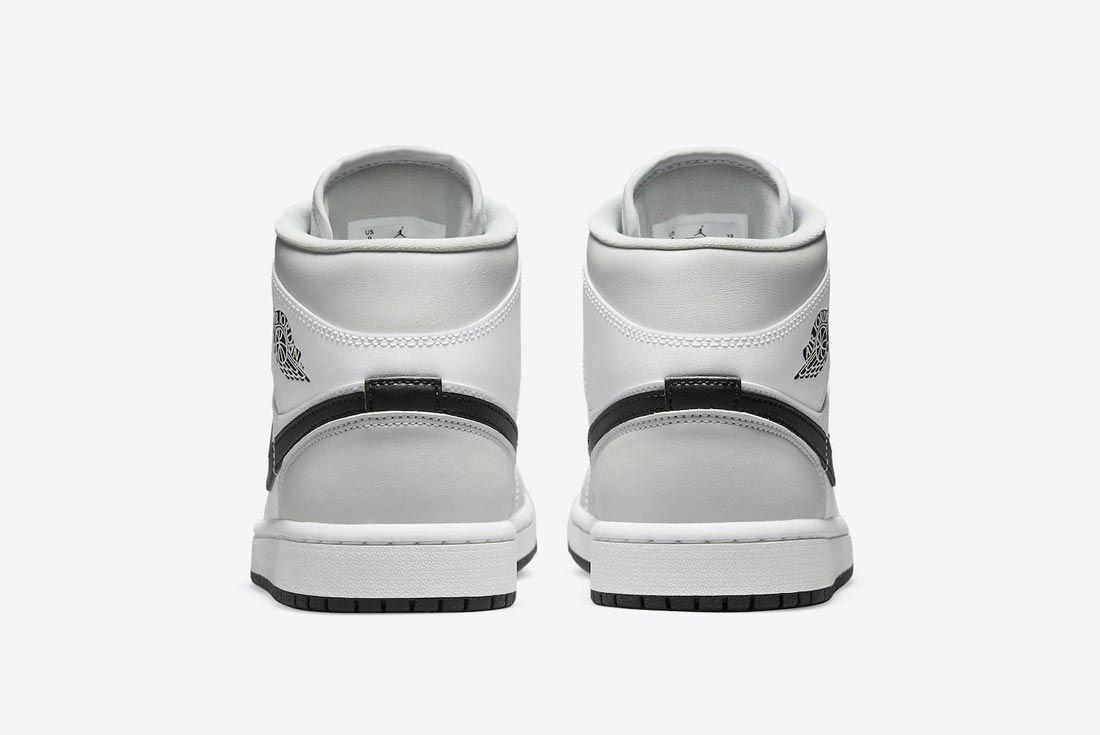 Air Jordan 1 Mid 'Light Smoke Grey'