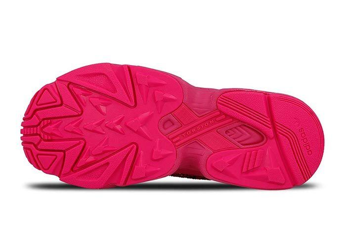 Adidas Falcon Shock Pink Sequins 5