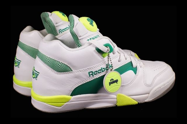 Reebok Court Victory Pump Citron 2