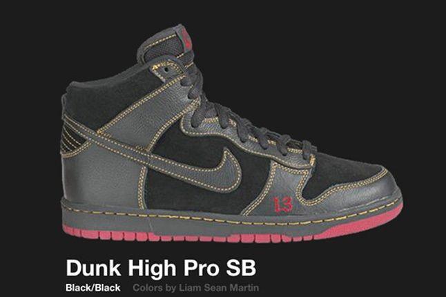 Nike Dunk Hi Sb Unlucky 13 2004 2