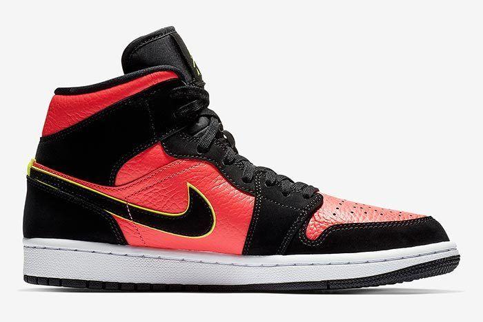 Air Jordan 1 Mid Hot Punch 3