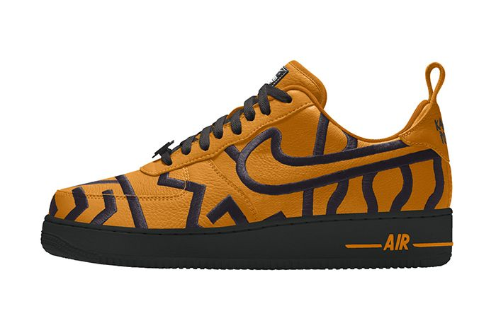 Karabo Poppy Nike Air Force 1 Low By You Gold Release Date Lateral