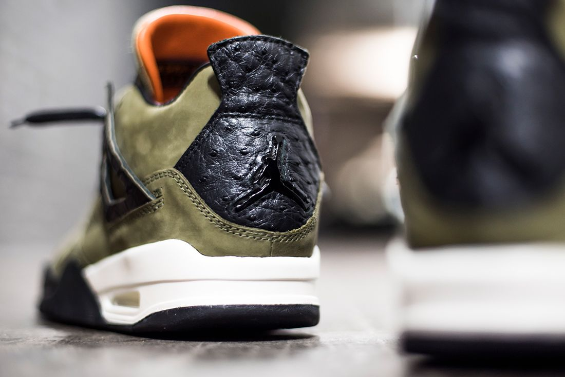 The Shoe Surgeon Reveals Undftd Inspired Air Jordan 4 Custom