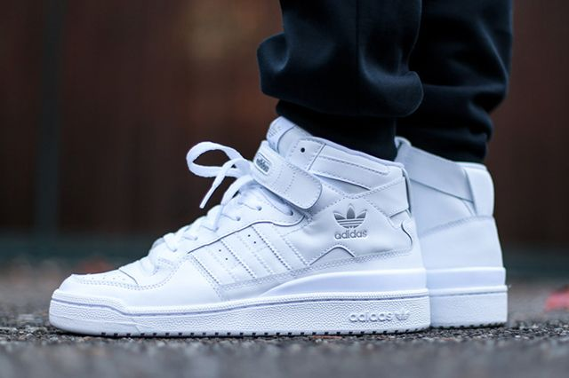 Adidas Forum Mid Triple White 3