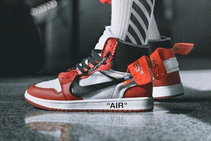 Off White X Air Jordan 1 On Feetfeatre